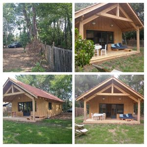 Photo for Nice quiet wooden house 5 people