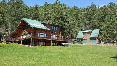 Photo for Luxurious Log Cabin nestled in the picturesque Black Hills