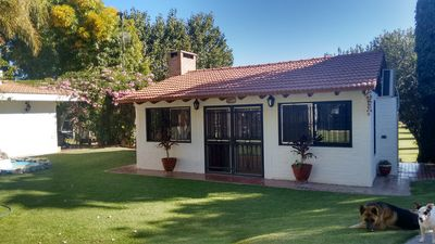 """Photo for Beautiful complex with country house and cabins, 5"""" from SAN JUAN, ARGENTINA"""