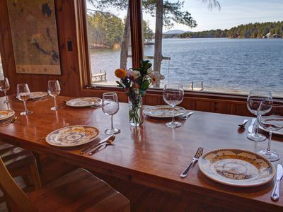 Photo for Lakeside house wIth GREAT views.