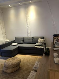 Photo for Minimalist apartment in the heart of Bilbao, metro and parking at 50m