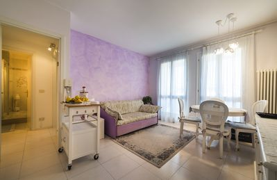 Photo for Romantic in the center, with top floor terrace, swimming pool, wi-fi, parking