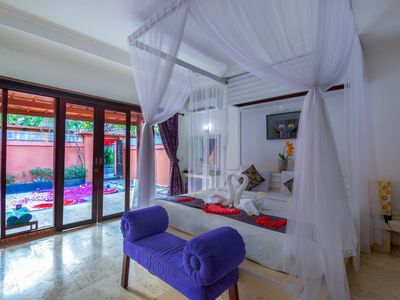 Photo for 1 BR private pool Villa in kuta near the beach