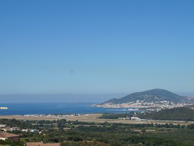 Photo for VILLA 14 PERS, SWIMMING POOL, BEAUTIFUL SEA VIEW, NEAR BEACHES PORTICCIO & AJACCIO