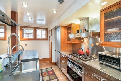 Stainless steel appliances perfect for making your dream dinner