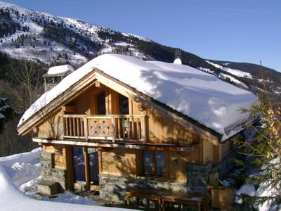 Chalet - MERIBEL CENTER - SPA, WIFI,