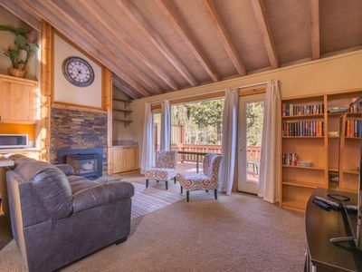 Photo for In Alpine Meadows! Shuttle to entrance of Alpine and Squaw! Cozy fireplace!