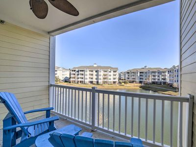 Photo for NEW! Myrtle Beach Condo - Walk to Pools and Beach!