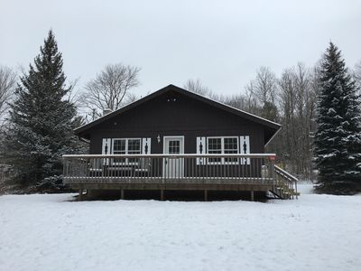 Photo for Family Friendly Cozy Hunter Windham Mountain Chalet Minutes Away From Fun