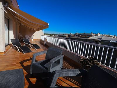 Photo for 2 bedroom penthouse with capacity for 4/6 people in the tourist center of Salou 300m from