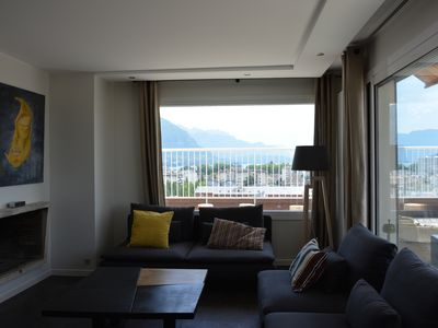 Photo for Attica. Rooftop in Annecy, exceptional view.