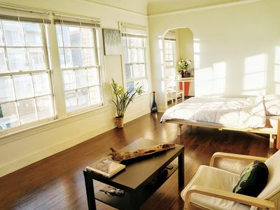 Photo for Bright studio close to Hollywood & Downtown LA