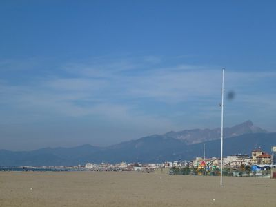 Photo for Beautiful apartment in Viareggio. Sandy beach very close.