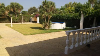 Photo for Casa Conil large garden, picnic area and pool.
