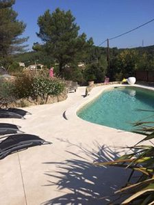 Photo for cottage mas cigalou splendid view with swimming pool and spa 9 people