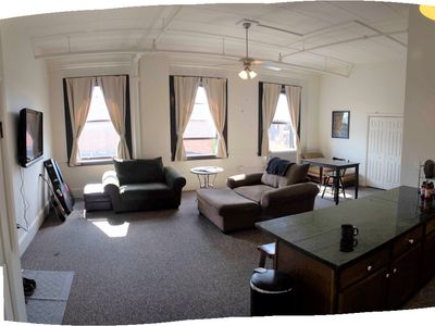 Photo for Amazing Downtown Saratoga Location Right Above Broadway!