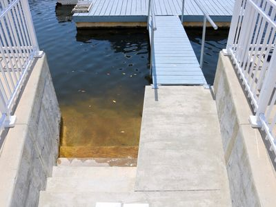 Photo for Waterfront/private dock/ 2 kayaks and a canoe included
