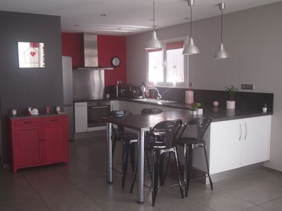 Photo for Family home, warm 15 minutes from the beaches and Biarritz