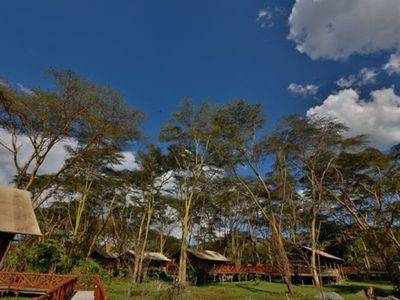 Kiboko Luxury Camp - In a regional park