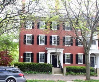 Grand 1820's Brick House In The Heart Of Historic Salem