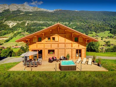 Photo for Peaceful French Alps ski chalet in the heart of great skiing - OVO Network