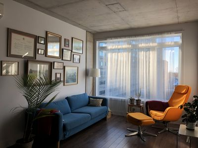 Photo for Chic urban oasis in the heart of Montreal