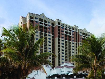 Photo for Thanksgiving week  at sunny Ft Lauderdale Marriott Beach Place Towers