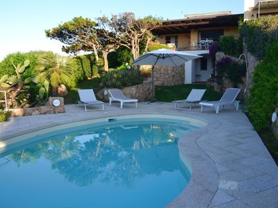 Photo for Villa with a swimming pool, overlooking the crystal-clear waters of the Costa Smeralda
