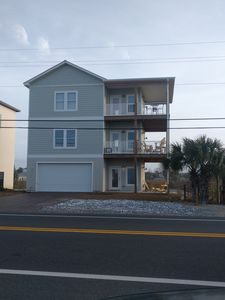 Photo for Beautiful Home!  Lake Front and Across From Beach. Great Views!!