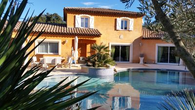 Photo for VILLA 240 m ² ANY COMFORT ON GROUND 4000 M ² ARBORE OF OLIVIERS PRIVATE SWIMMING POOL