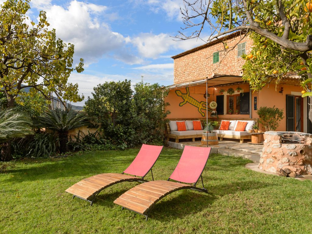 can coixi: **sÒller** cottage with cozy garden and pool, stunning, Gartenarbeit ideen