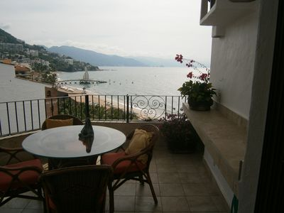 Photo for 2 BR  Beachfront Penthouse-Spectacular View of Ocean, Mountains & Old Town