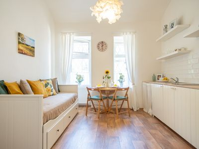 Photo for Bright and spacious flat with two bedrooms for 6 guests by easyBNB