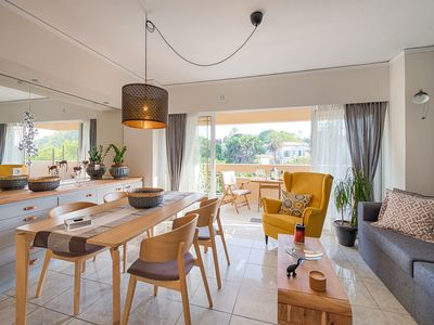 Photo for A freshly renovated, luxury apartment right in the heart of Rhodes City