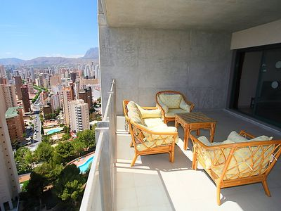 Photo for Apartment Mirador del Mediterráneo in Benidorm - 4 persons, 2 bedrooms