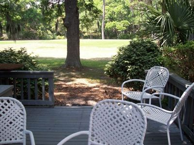 Photo for Palmetto Dunes, 18th Tee, 5 Minute Walk to Beach, Pool, Tennis
