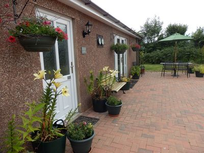 Photo for 4 Star, Self-catering  detached Bungalow with Play area,  WIFI and Jacuzzi