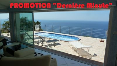 Photo for Le Coin de Paradis, luxury villa with sea view. Last minute offer