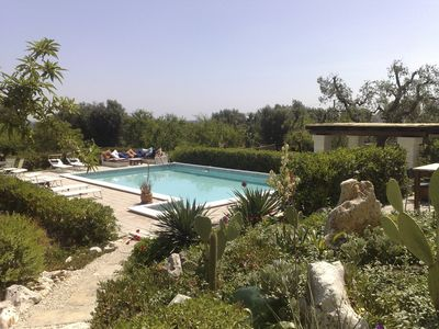 Photo for Villa with pool, great views