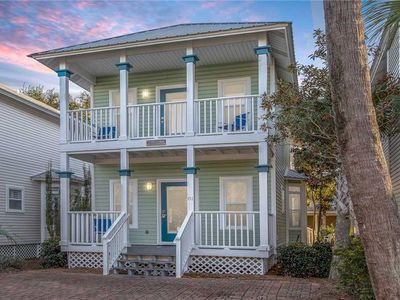 Photo for Key Lime Cottage - Old Florida Cottages, Community Pool, Easy Walk to the Beach!