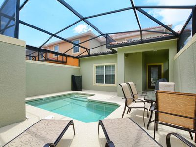 Photo for Private Pool*Free Wifi*Only 4 miles to Disney*Communal pools-slides-tiki bar-*