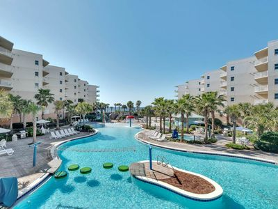 Photo for Inviting Gulf-Front Condo At Waterscape! 490 Feet Of Private Beach!