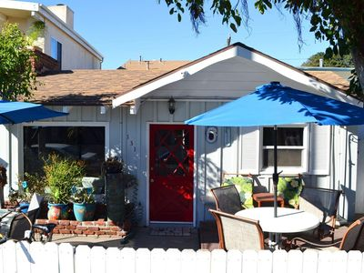 Photo for Sleeps 14! 30 Seconds to Beach & Dining!  4 Bikes/ 2 car garage parking/washer!