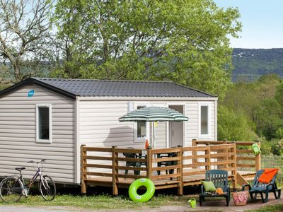 Photo for Vacation home Camping Caravaning (AAR352) in St-Alban-Auriolles - 4 persons, 2 bedrooms