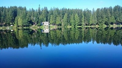 Photo for Waterfront home on a quiet lake