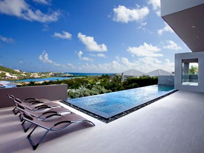 Luxury 3 bedroom villa located very short drive to Orient bay and Grand Case.