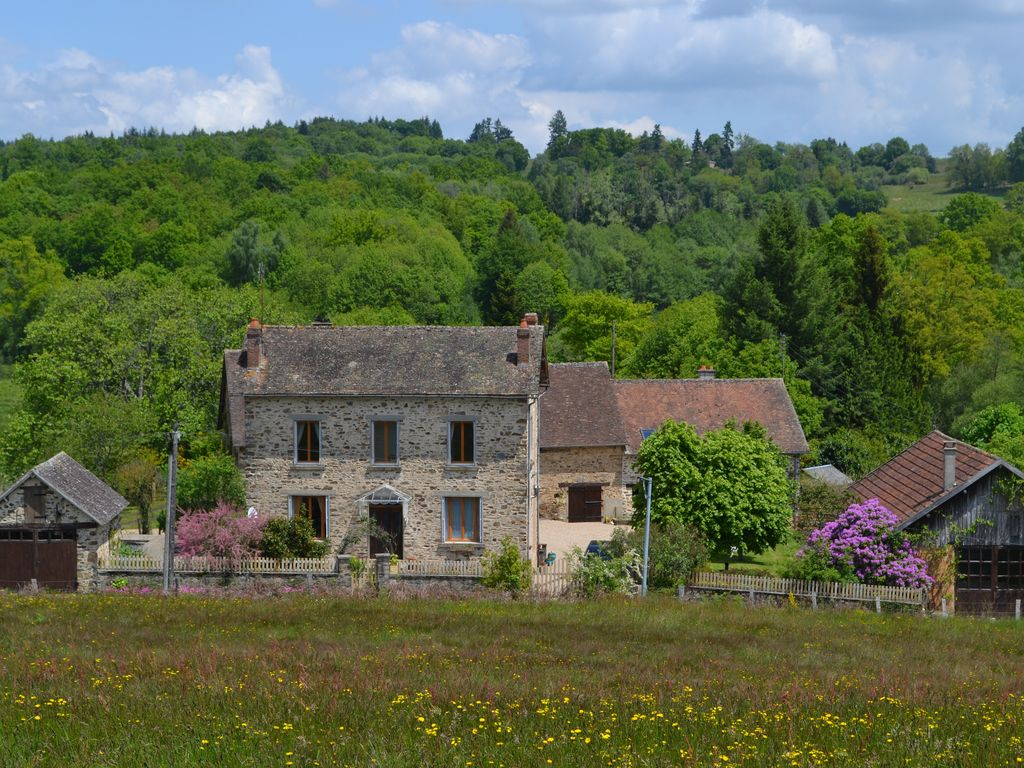 French Country Farmhouse Carp Fishing Lake With Swimming Pool Coussac Bonneval Best Places To
