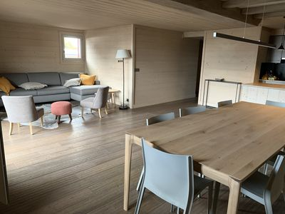 Photo for Luxury 85m2 appartement in Meribel , ski in/out