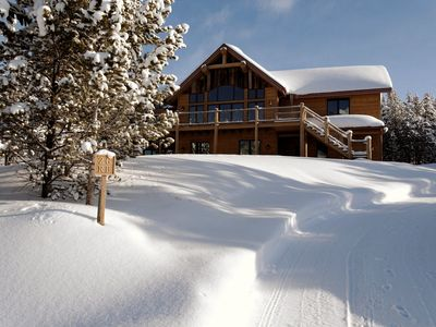 Photo for Casa Big Sky - Two Bed Apt in Large Private Home on Groomed Ski Trail