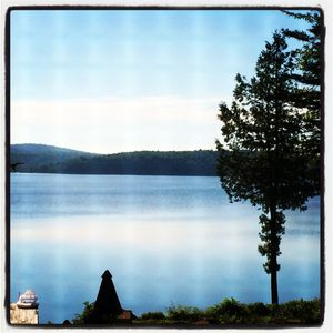 Photo for Lake front cottage on quiet Lake Wassookeag with pristine water views.